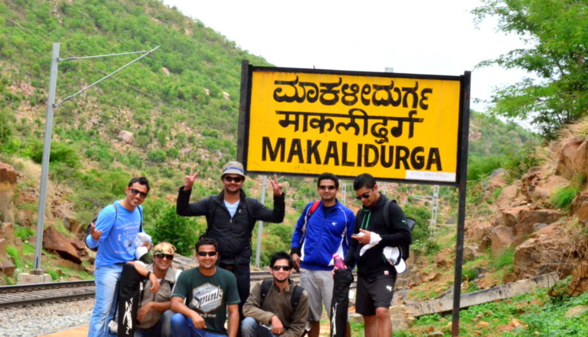 Trek to Makalidurga, Bangalore